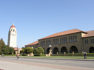Bild 2: Stanford Universität in Palo Alto Californien