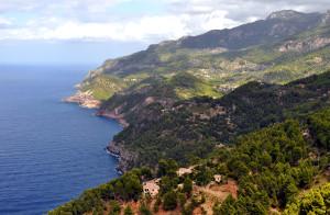 Tramuntana-Gebirge auf der Westküste von Mallorca