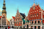 Rigas Schwarzhäupterhaus mit Renaissance-Ziergiebel