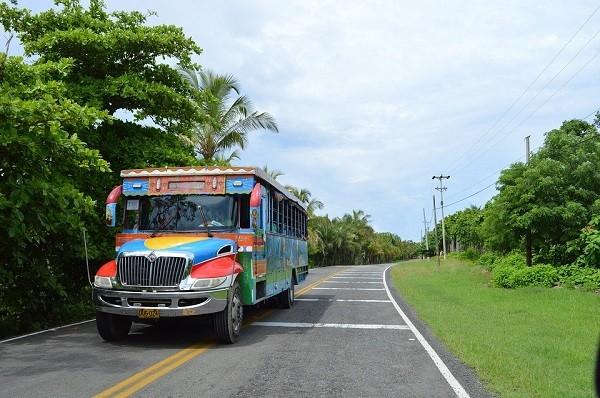 Durch Kolumbien mit dem Bus reisen